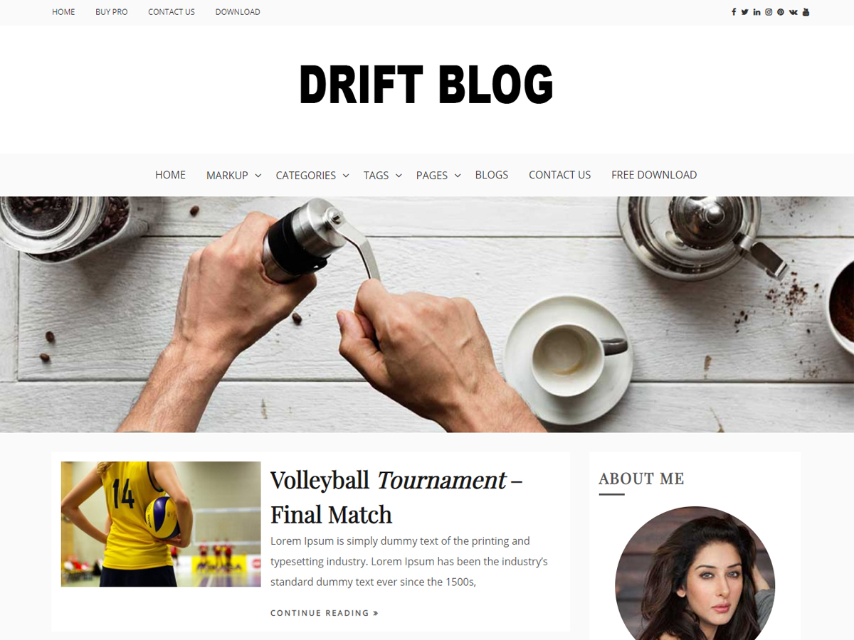 Drift Blog