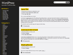 Drochilli free wordpress theme