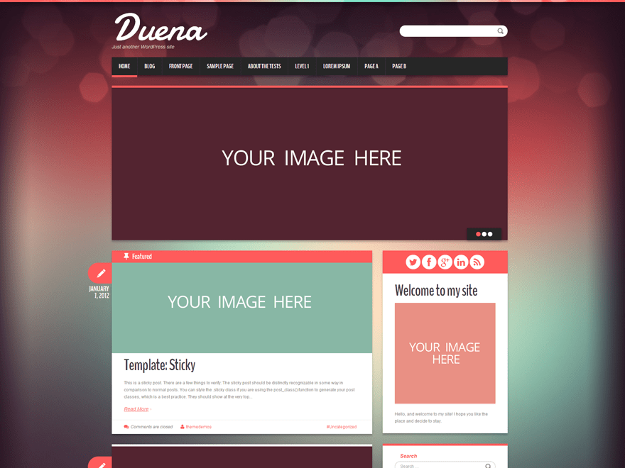 Duena theme wordpress gratuit