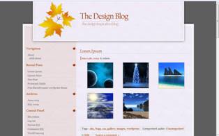Dynamic Dream free wordpress theme