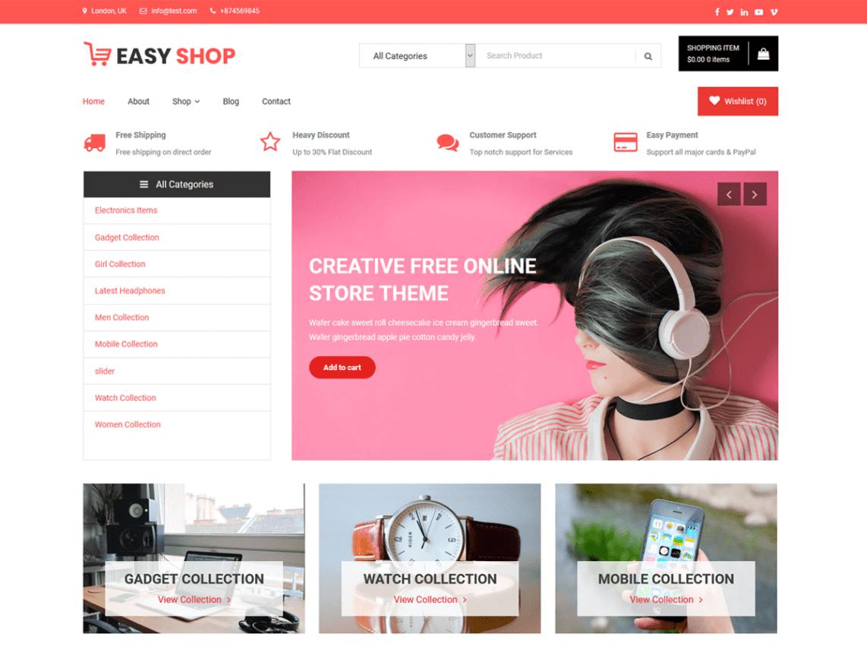 easy shop wordpress org