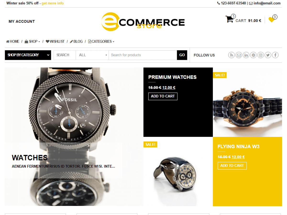 Ecommerce Store Wordpress Theme Wordpress Org