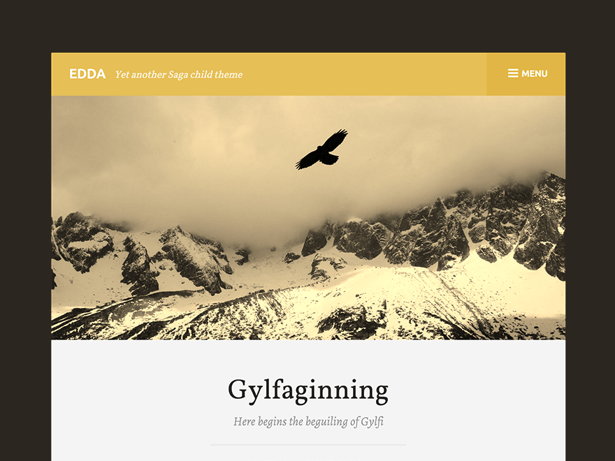 Edda free wordpress theme