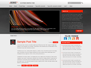 eDegree° free wordpress theme