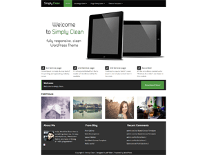 Eden Fresh free wordpress theme