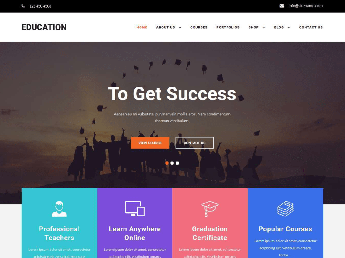 Educamp - WordPress theme | WordPress org