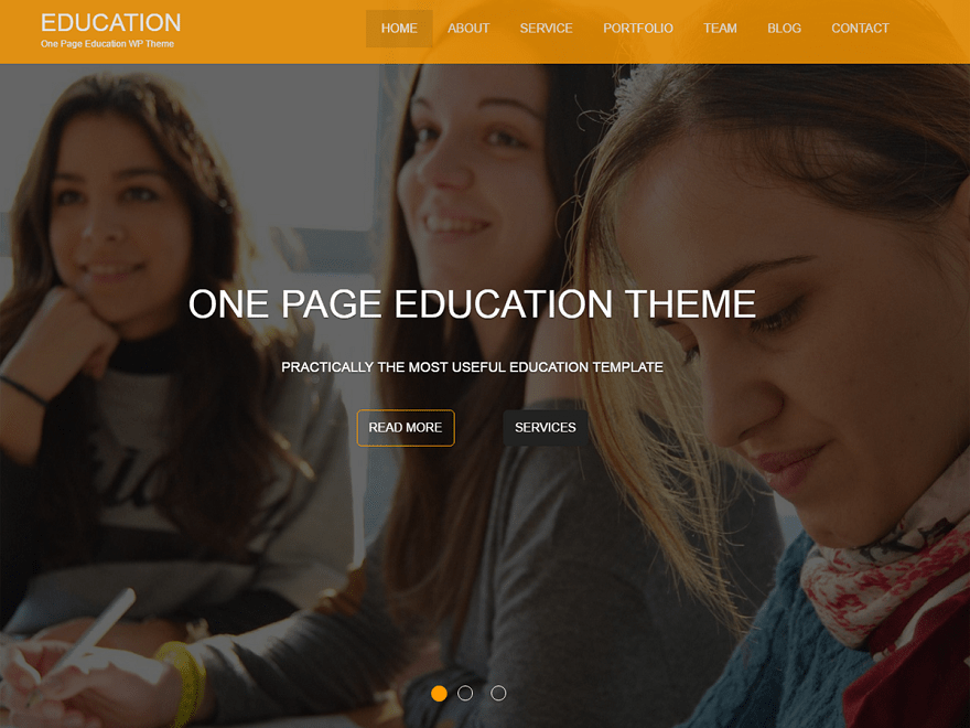 Education One Theme Free Download