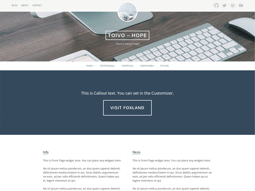 Eemeli free wordpress theme