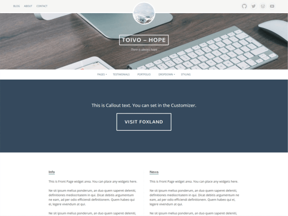 Eemeli wordpress theme