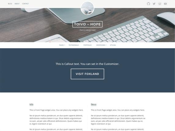 Eemeli wordpress theme