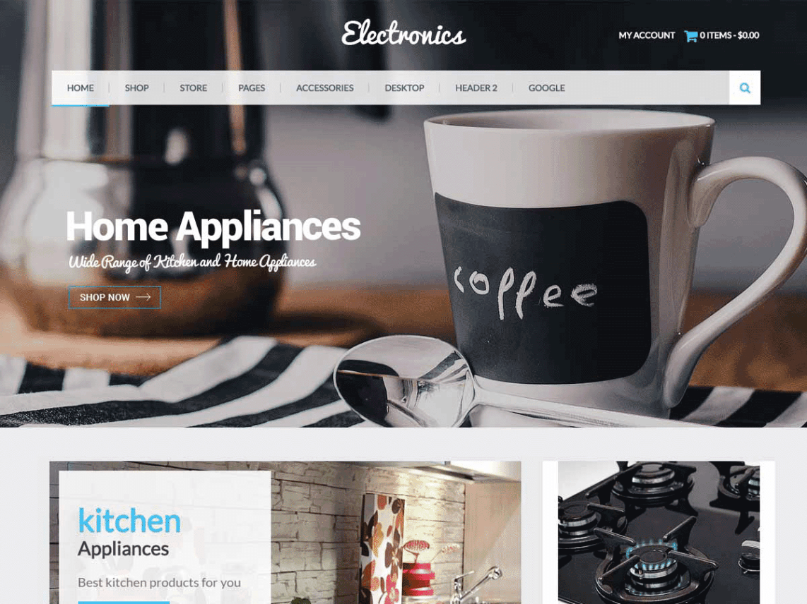 Eezy Store Theme Free Download