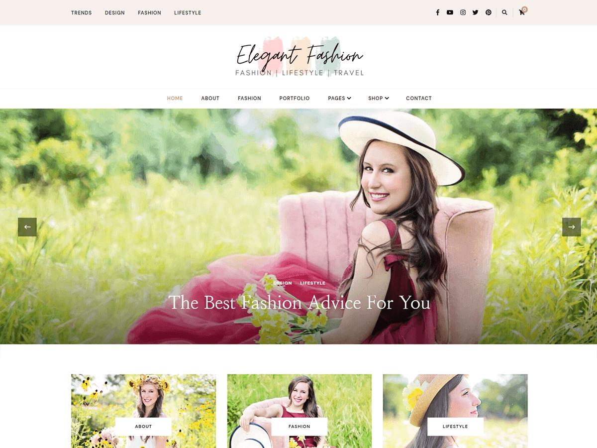 WordPress主题:Elegant Fashion