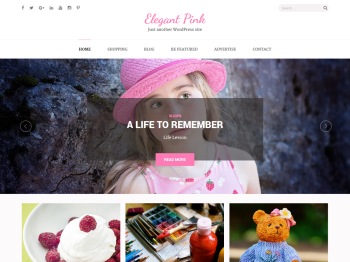 Elegant Pink child theme