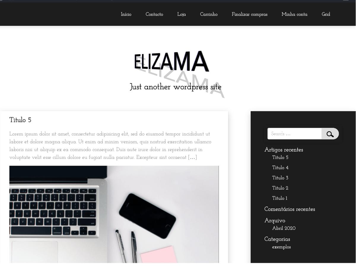 Elizama - WordPress theme | WordPress.org