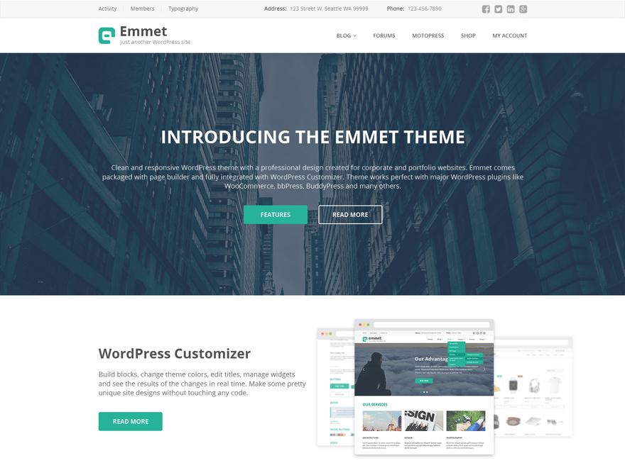 Emmet Lite | WordPress.org
