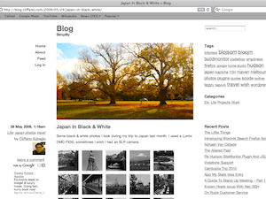 Emptiness wordpress theme