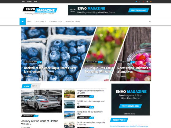 Envo Magazine | WordPress.org
