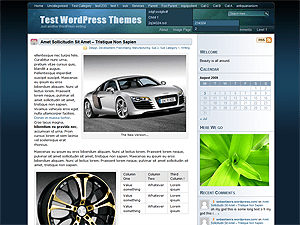 Eos free wordpress theme