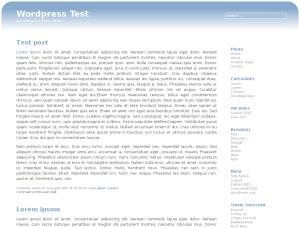 Evanescence free wordpress theme