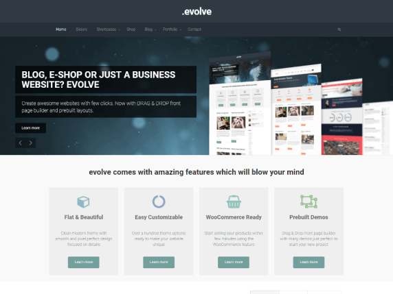 evolve | WordPress.org