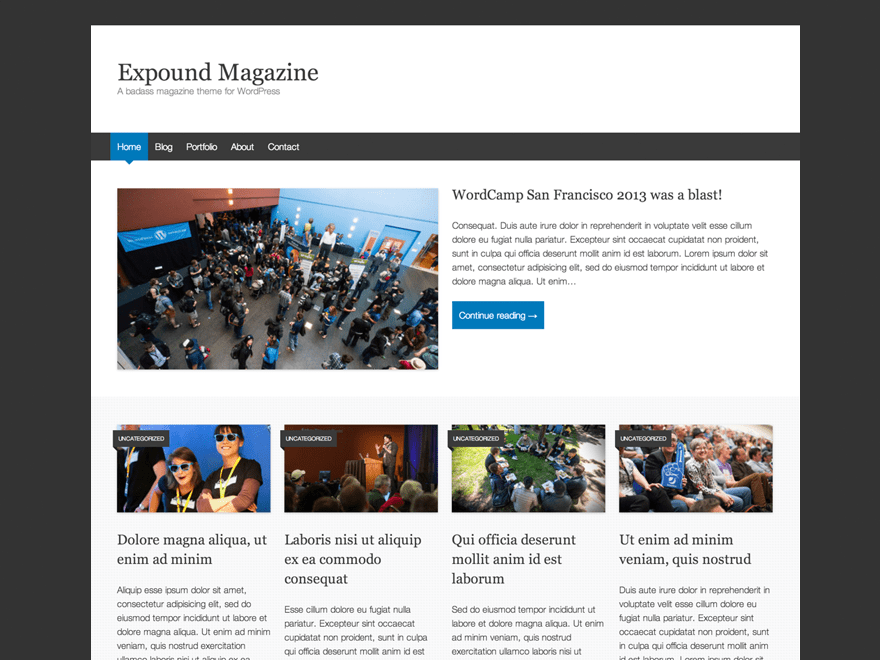 Expound | WordPress.org