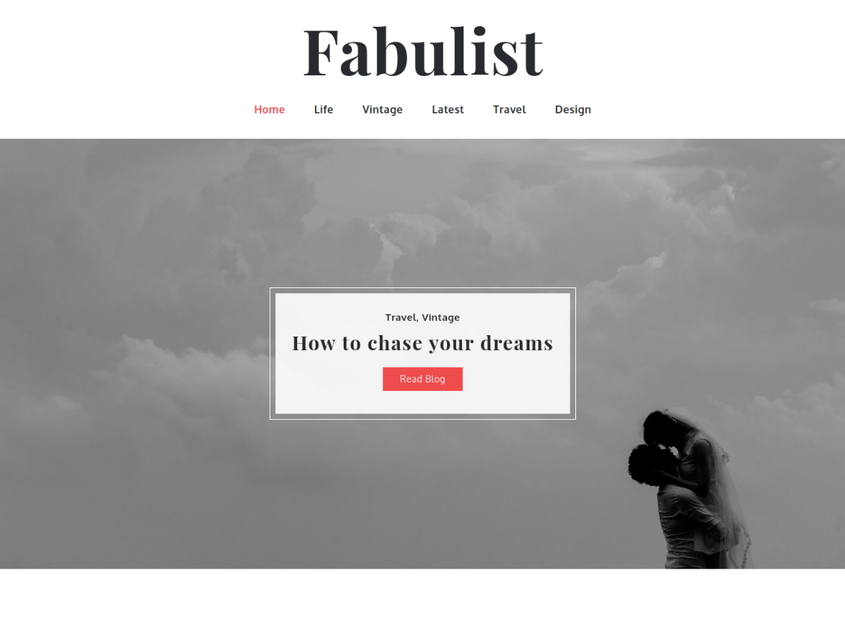 WordPress主题:Fabulist