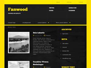 Fanwood wordpress theme