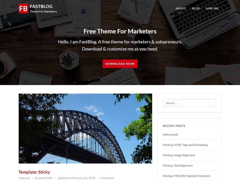 Fastblog Wordpress Org