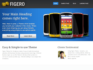 Figero free wordpress theme