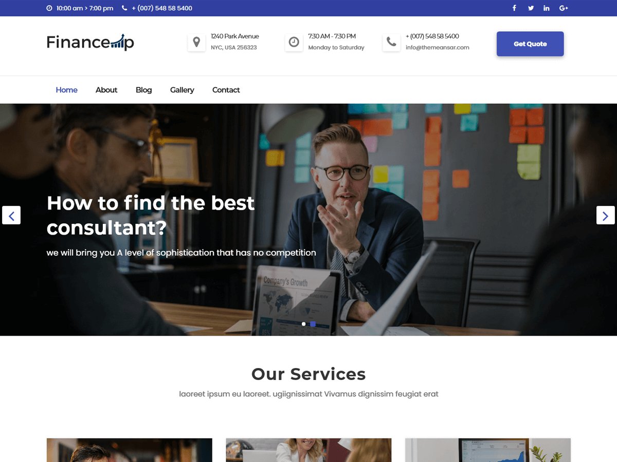 financeup