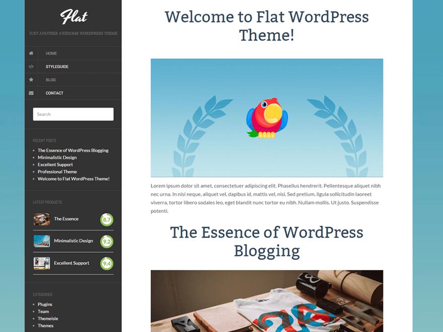 Flat | WordPress.org