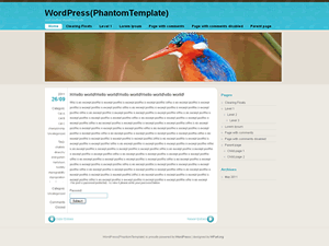 FloatingLight free wordpress theme
