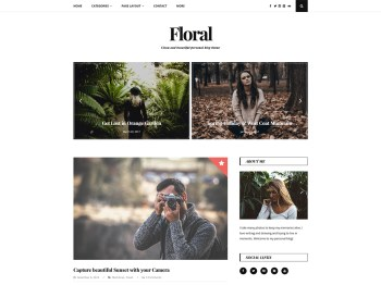 Floral Lite child theme