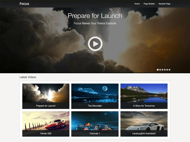Focus - WordPress theme | WordPress org