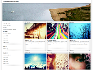 Fotogram free wordpress theme