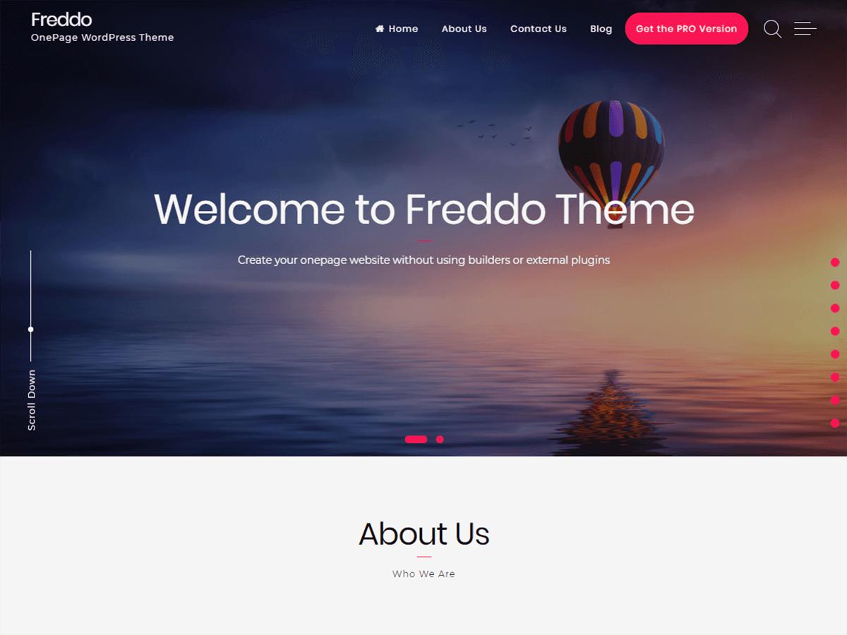 Freddo - Responsive Grid WordPress Theme