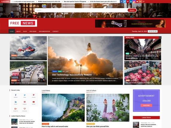 Freenews Wordpress Theme Wordpress Org
