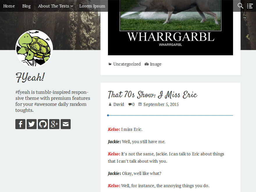 fyeah free wordpress theme