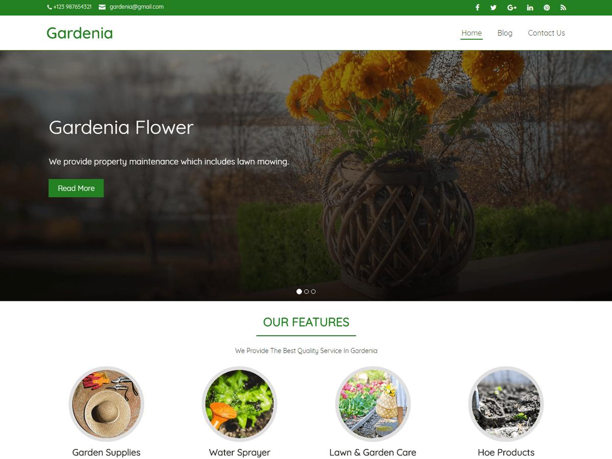 Gardenia - WordPress theme | WordPress.org