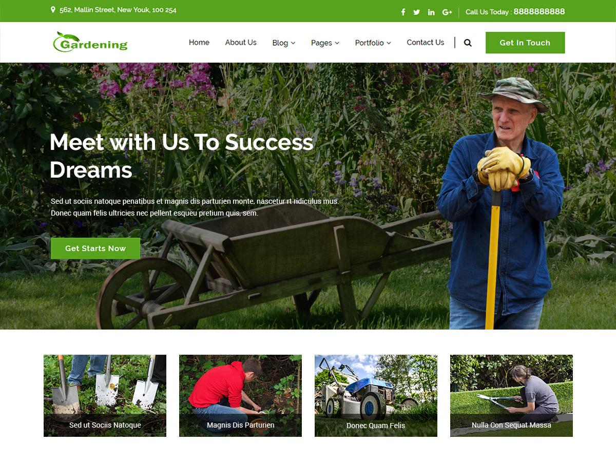 WordPress主题:gardenings