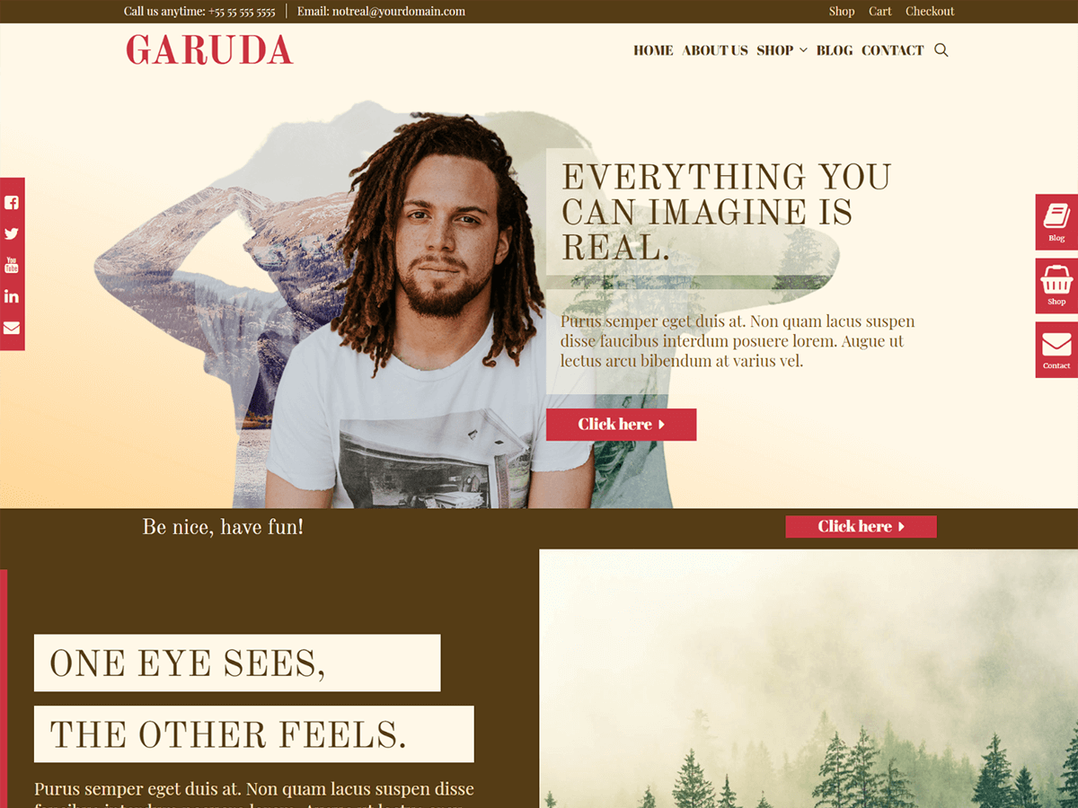 WordPress主题:Garuda