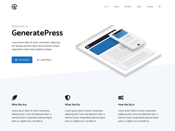 Generate Press para web automáticas