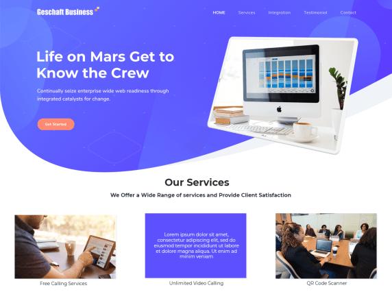 GeschaftBusiness-best-free-freelancer-WordPress-themes-WPreviewteam
