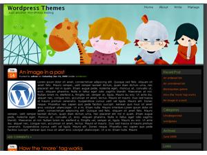 girl free wordpress theme