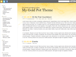 Gold Pot Theme
