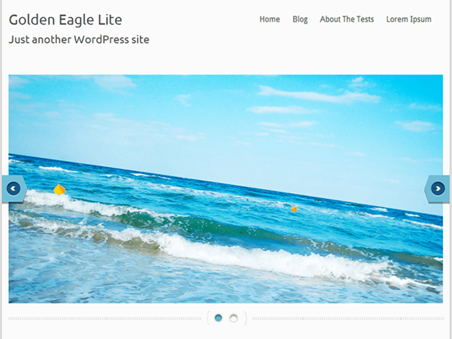 Golden Eagle Lite free wordpress theme