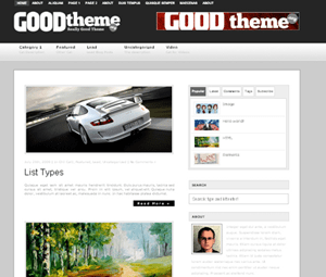 GoodTheme Lead free wordpress theme