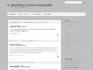 Gray Modern free wordpress theme