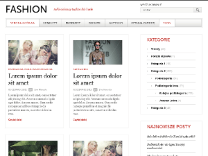 Gray White Black wordpress theme