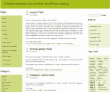 Green Trilobita